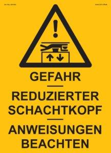 Nsv Aufzugskomponenten Beschilderung 904 021 904 022 904 023 904 024 Reduzierter Schachtkopf Tabelle